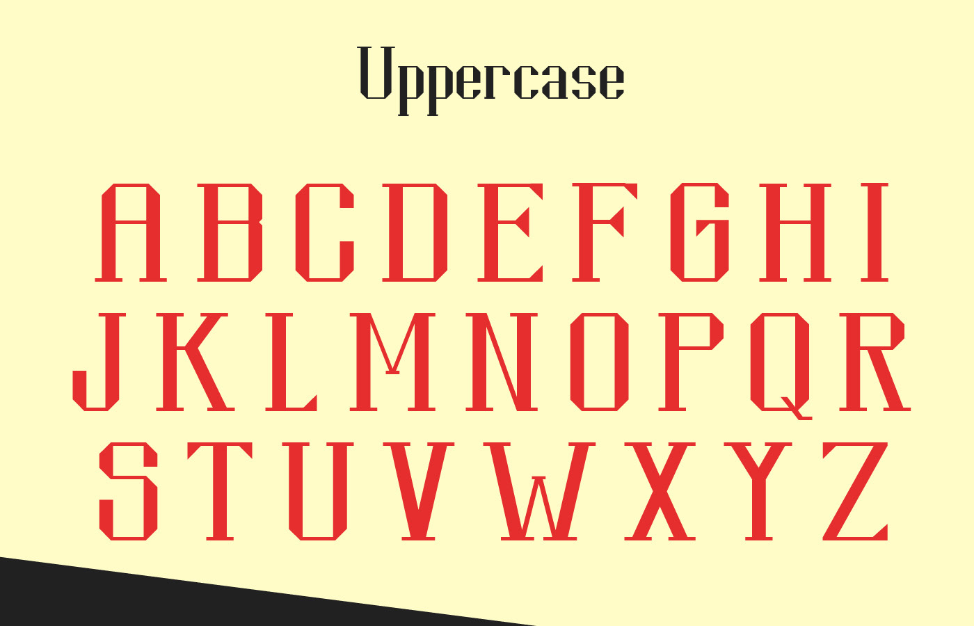 KONTRAST Free Neo-Classical Typeface - serif