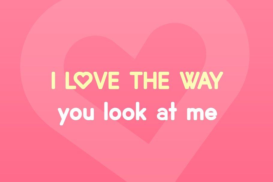 Lovebirds Free Font - sans-serif