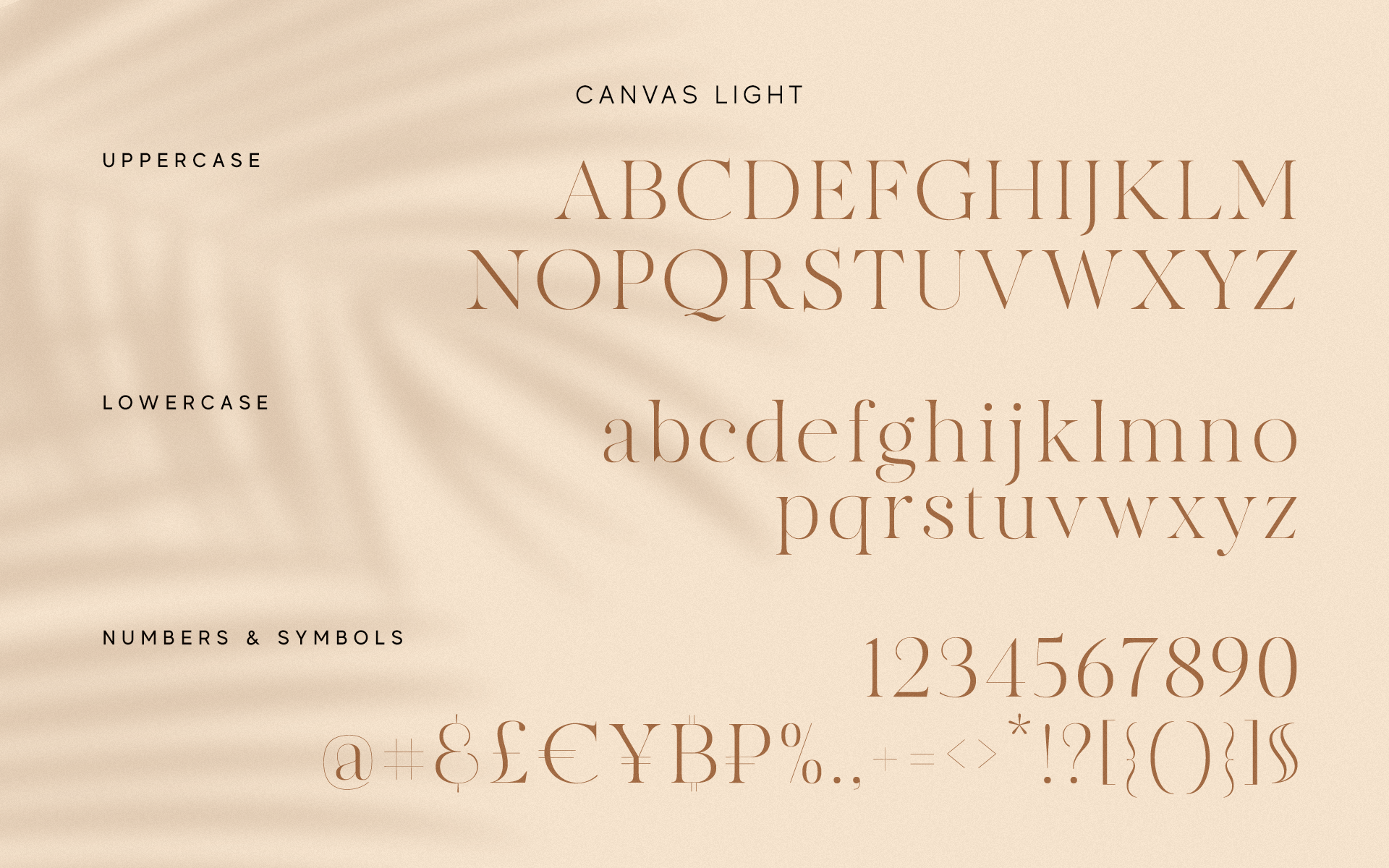 MADE Canvas Free Font - serif