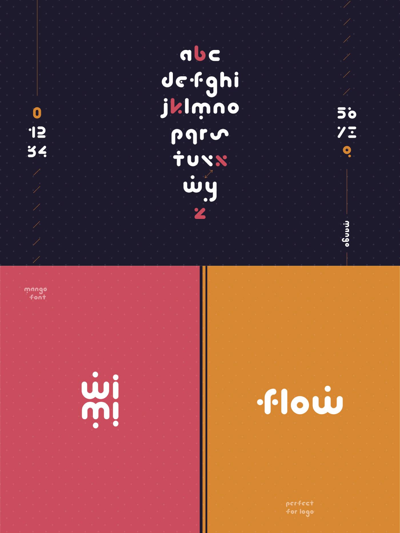 MANGO Free Font - sans-serif
