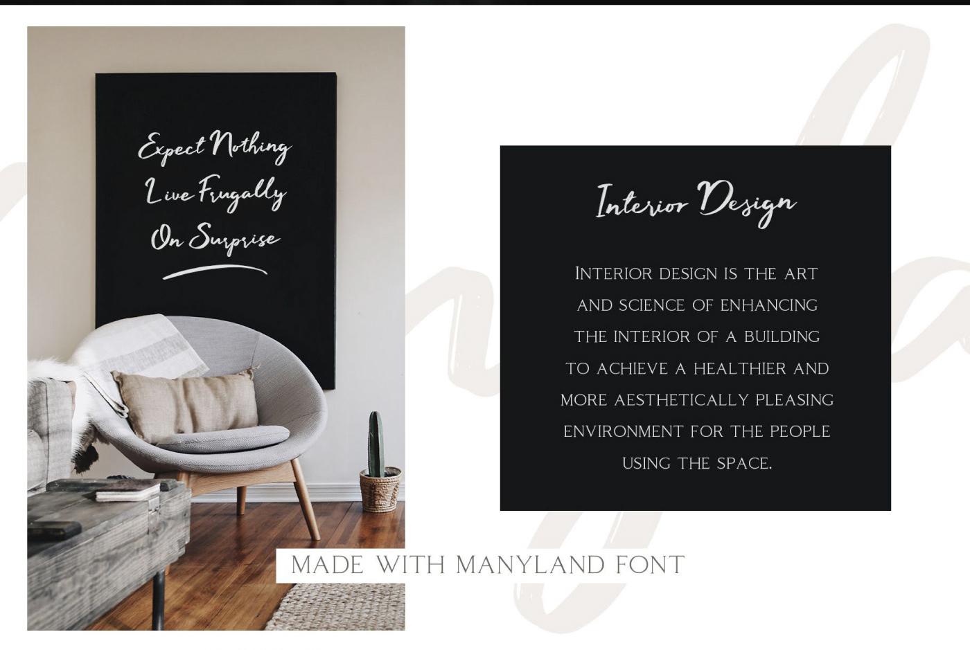 Manyland Free Font - script