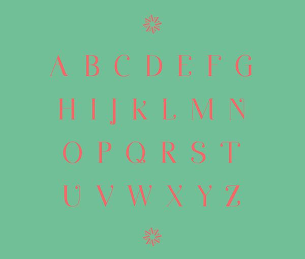 Minna Drop Free Typeface - serif