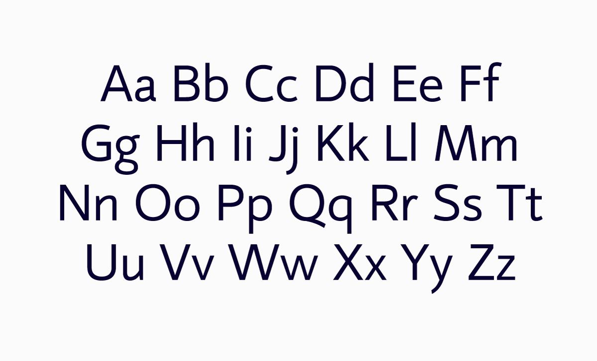 Mirror 82 Free Font - sans-serif
