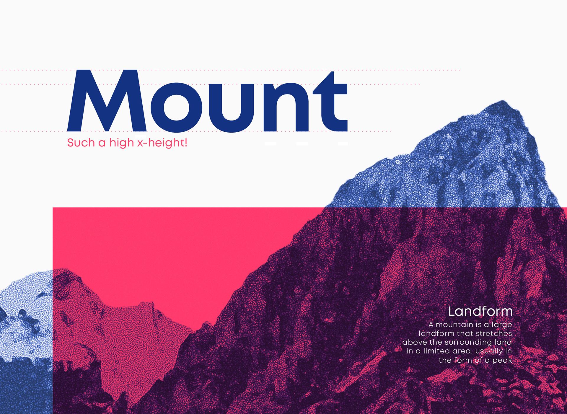 Mont Font Family - sans-serif