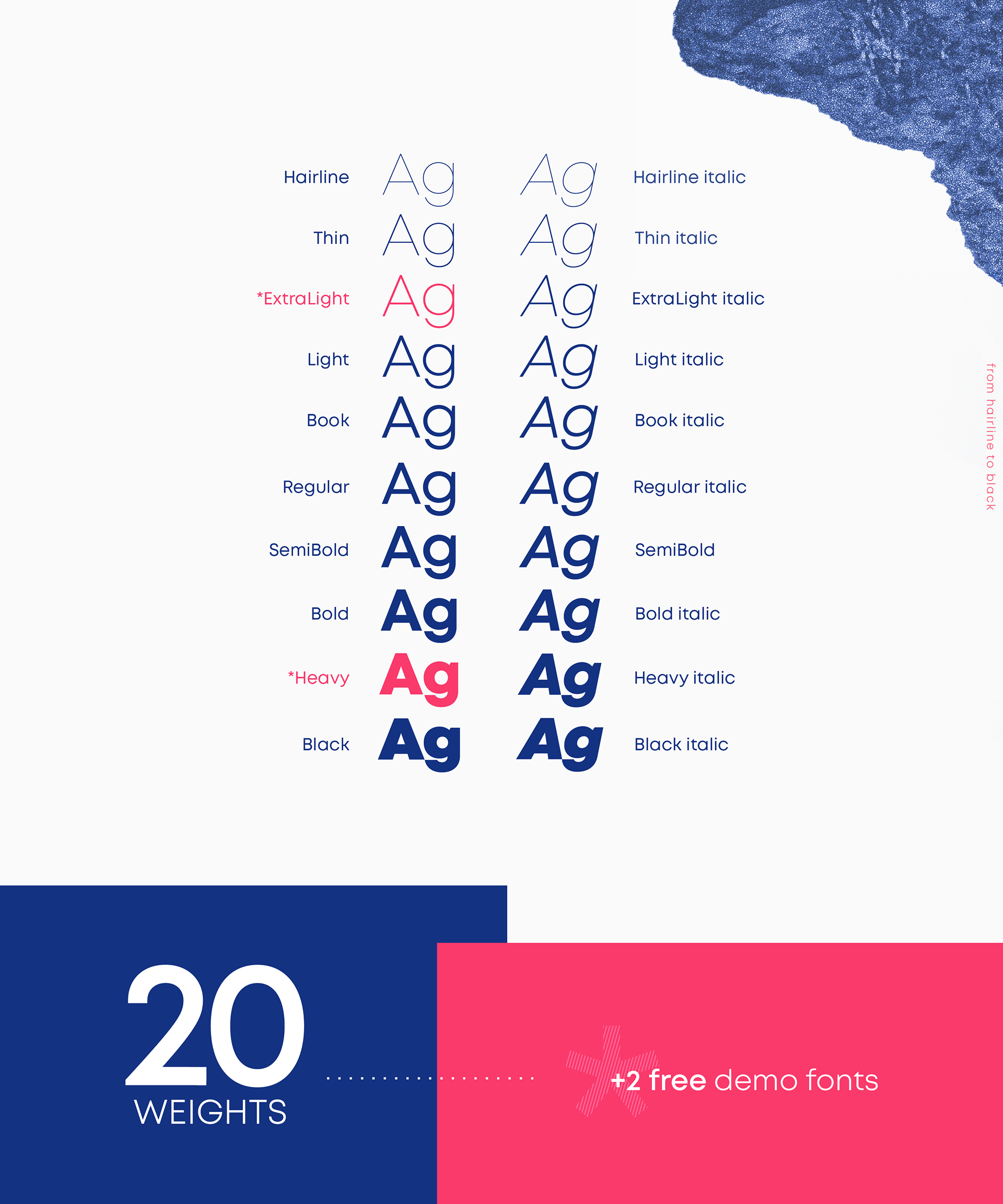 Mont Font Family -