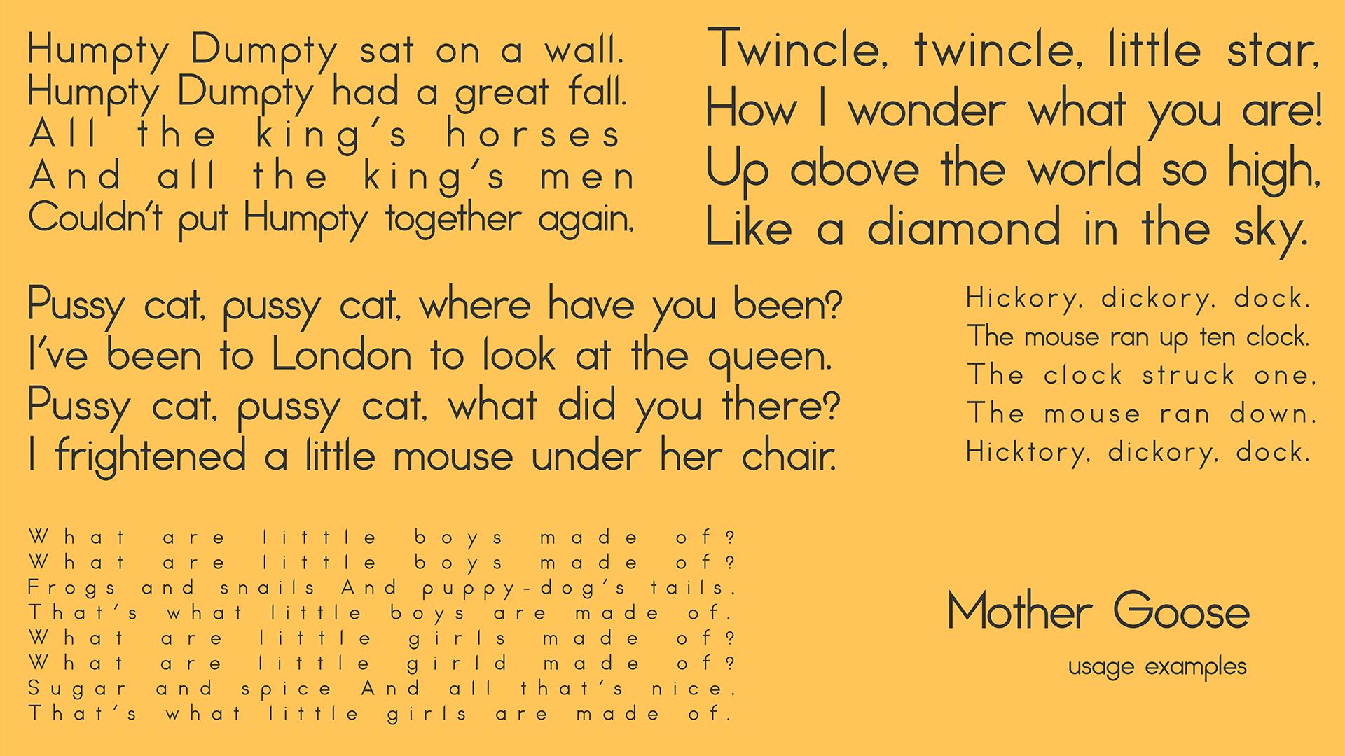 Nitaka Free Typeface - sans-serif