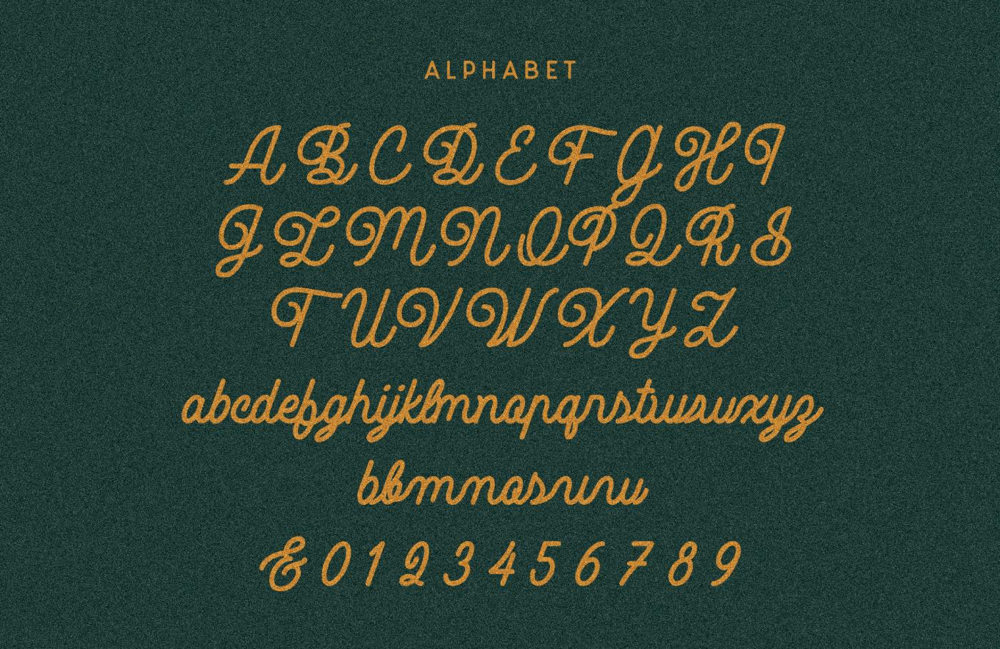 NOBLE COMPANY Free Font - script