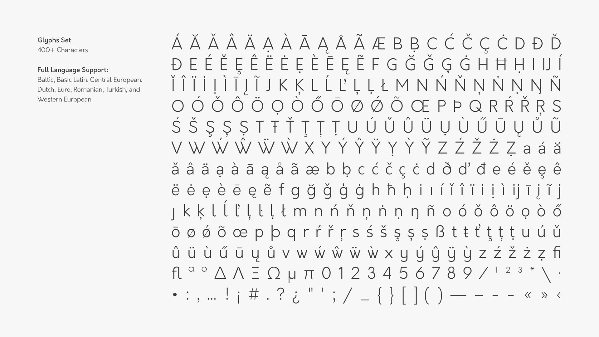 Orkney Free Typeface - sans-serif