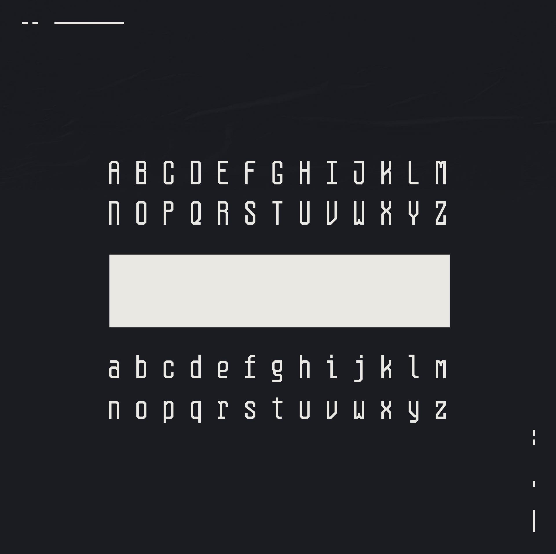 Planck Free Font - monospaced