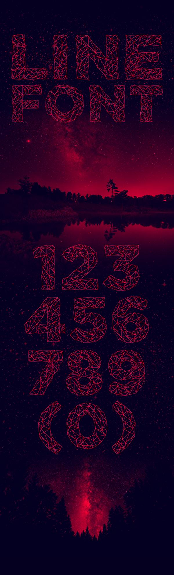 POLYA Free font - decorative