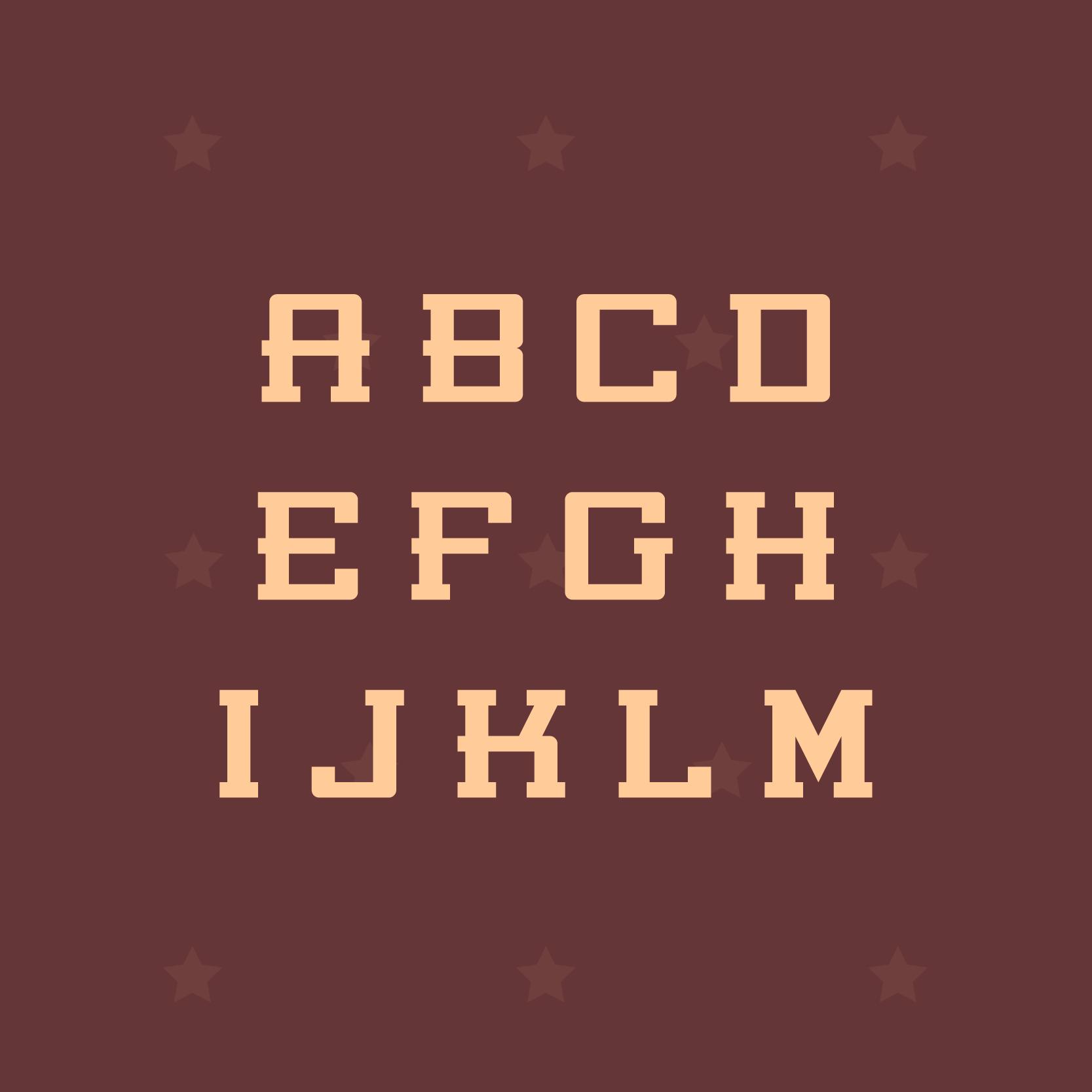 PONIENTE Free Font - decorative