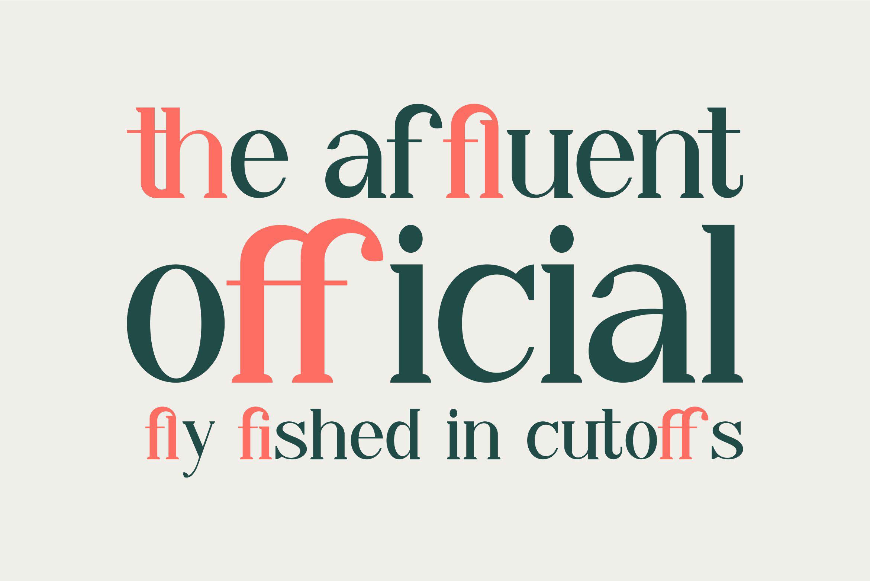 Qiba Free Font - serif