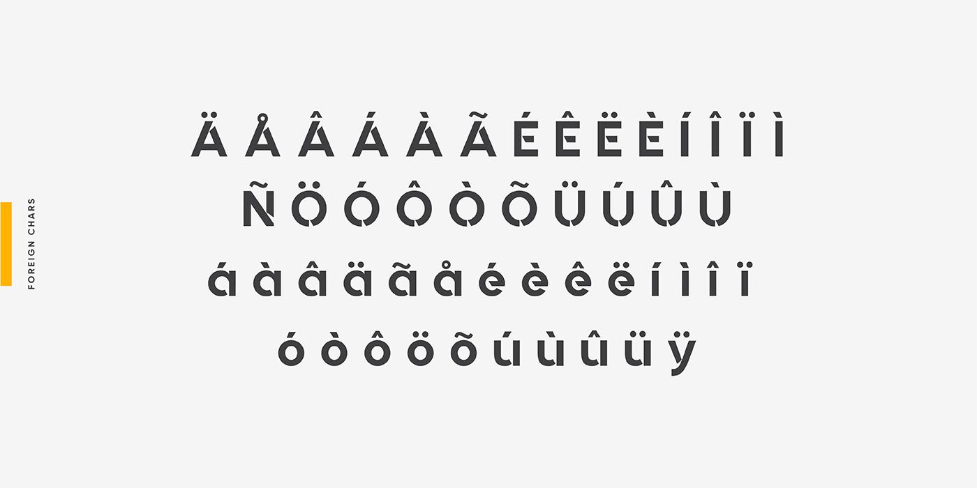 Quantify Free Font - sans-serif