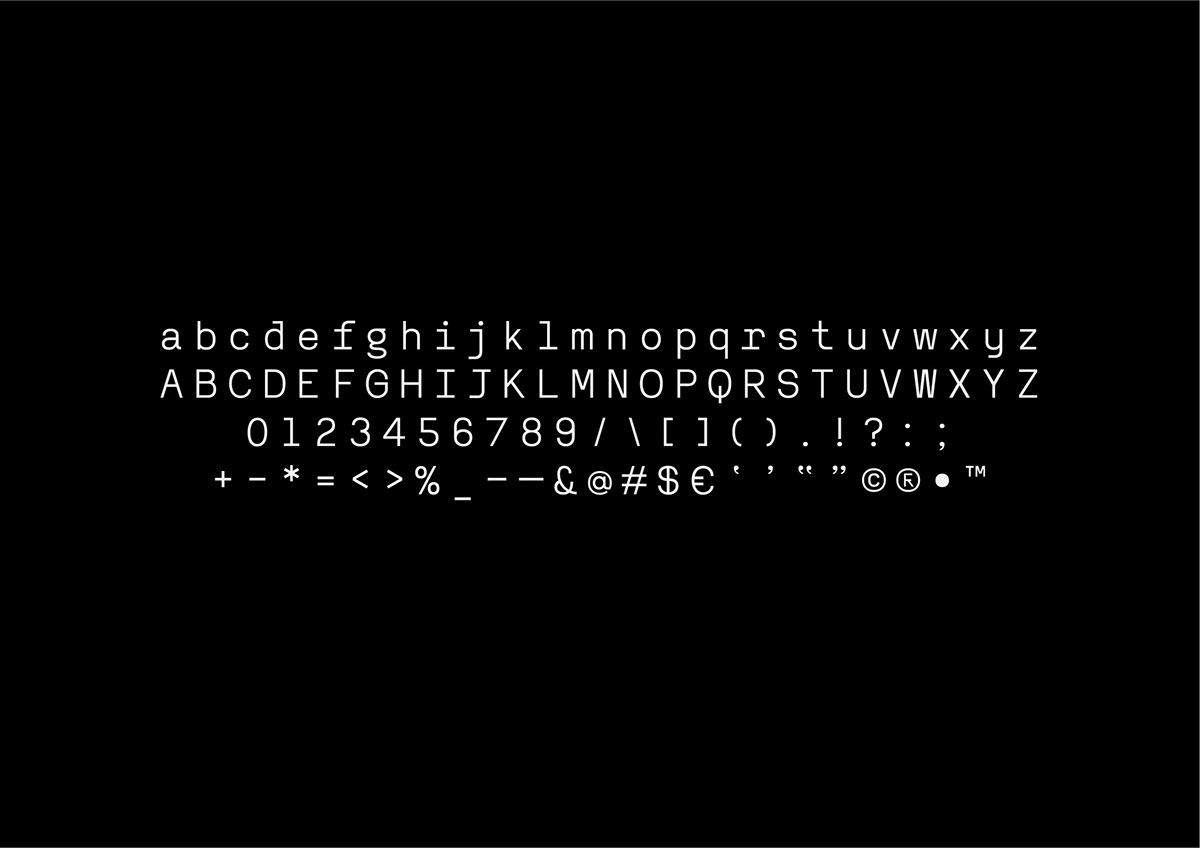 RenoMono FREE Font - monospaced