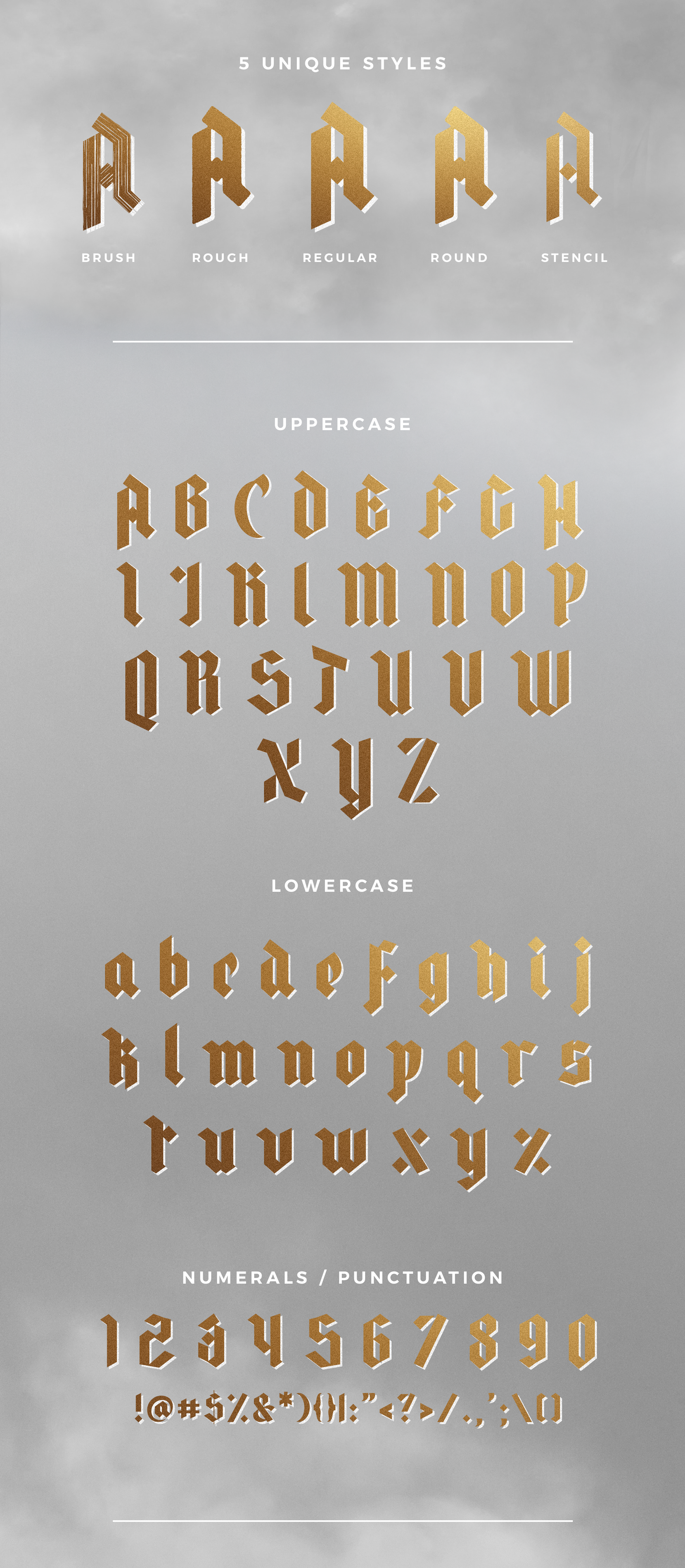 ROWAN & ROYAL Free Font - blackletter