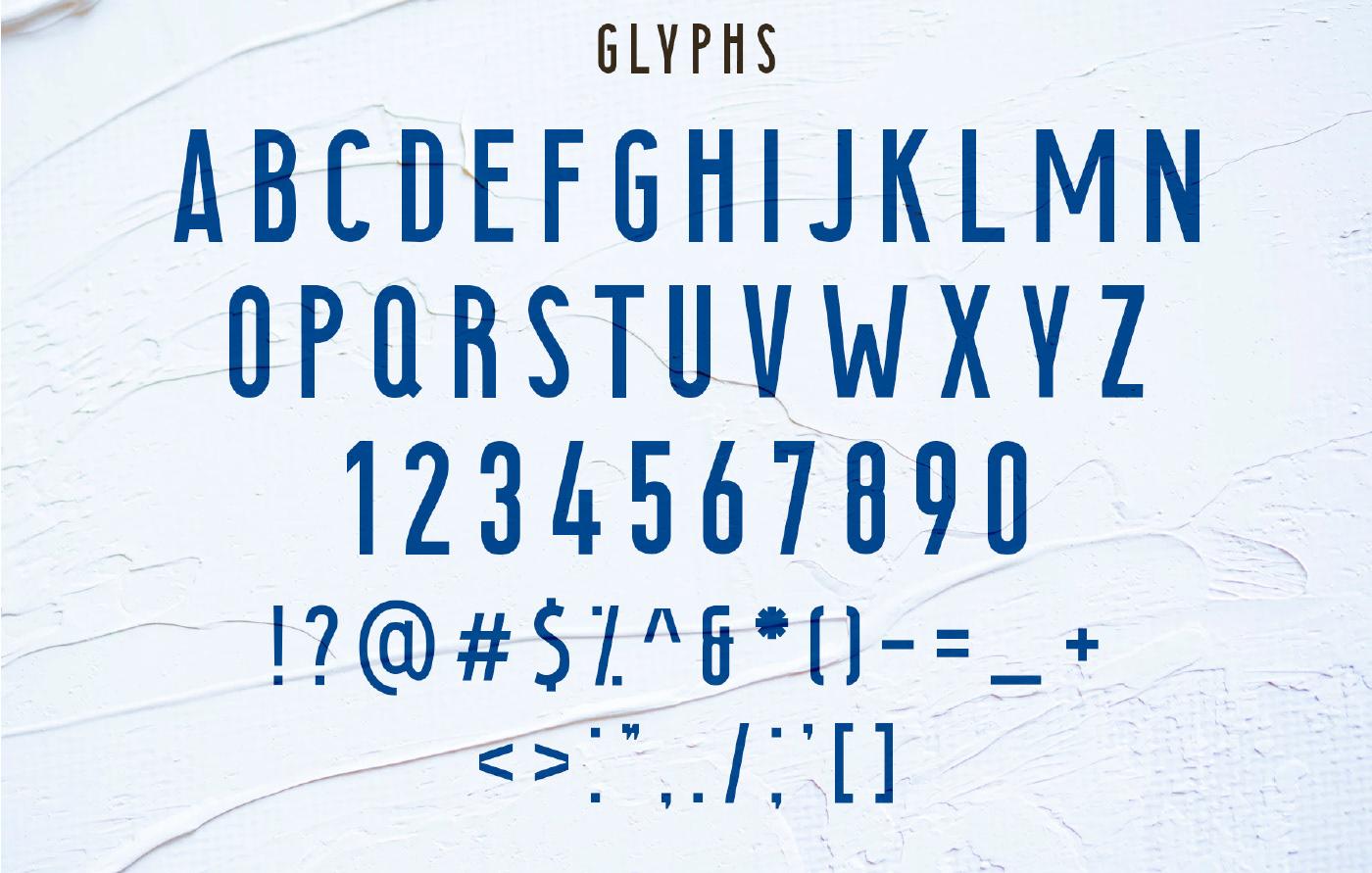 SEAROCKS Free Font - sans-serif