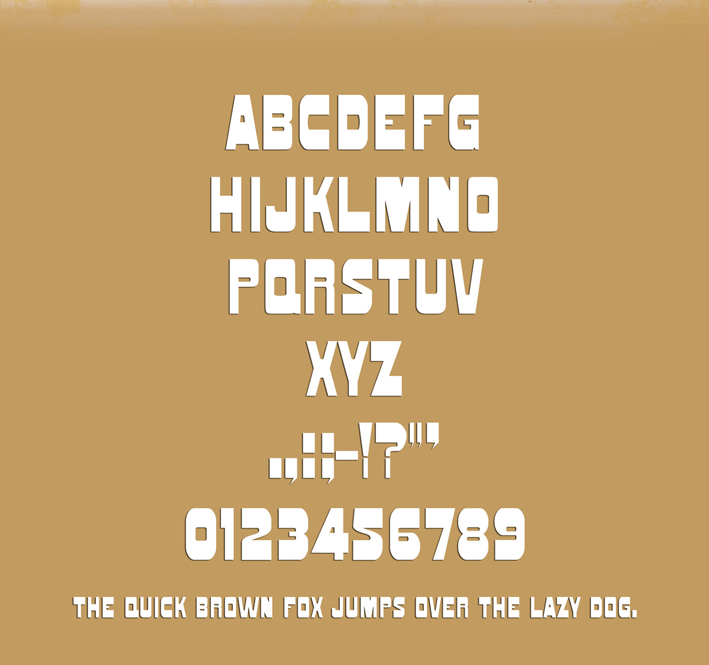 SENECA Free Font - sans-serif