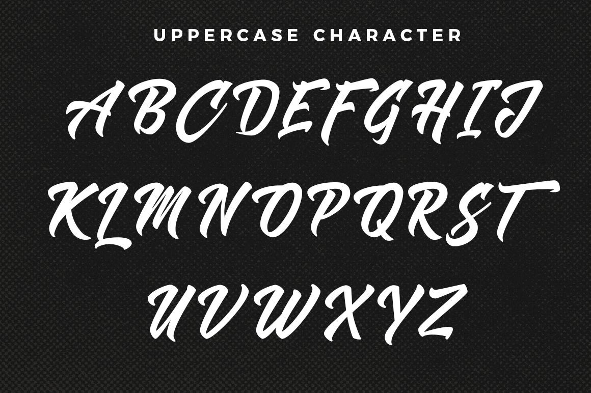 Shanders Free Font - script