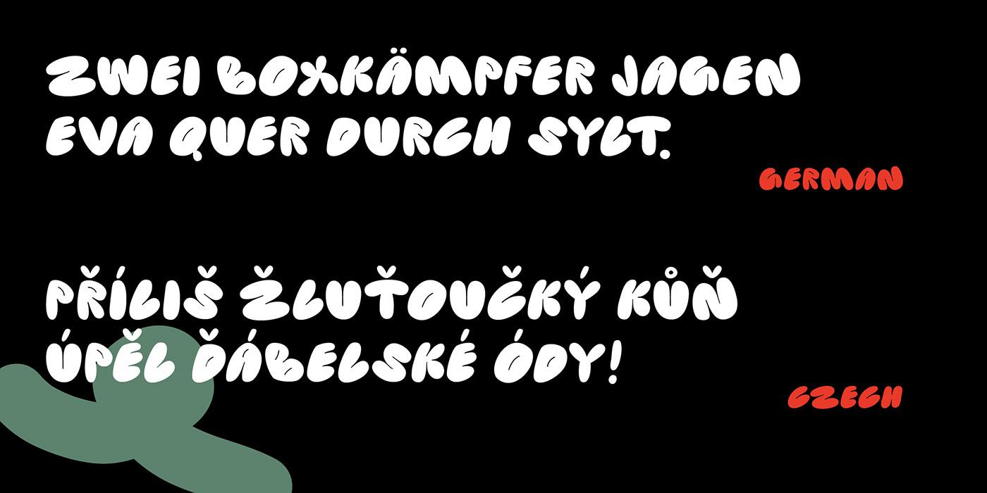 SK Pupok Free Font - decorative-display