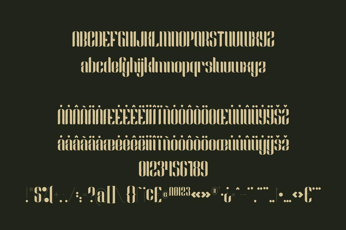 Slang Free Font - decorative
