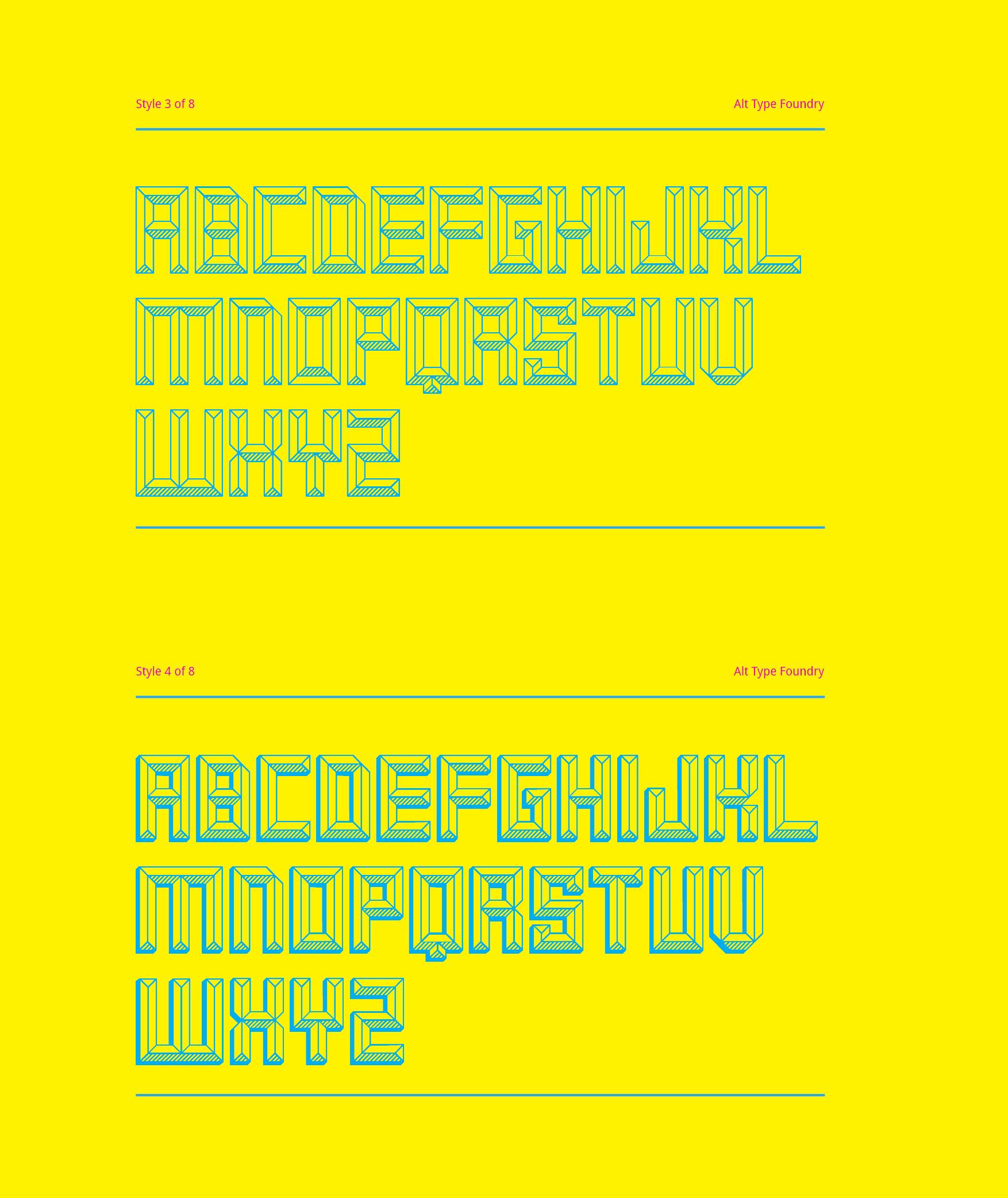 Smaq Free Font - decorative