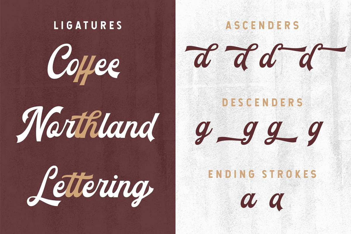 The Blendhes Free Font - script
