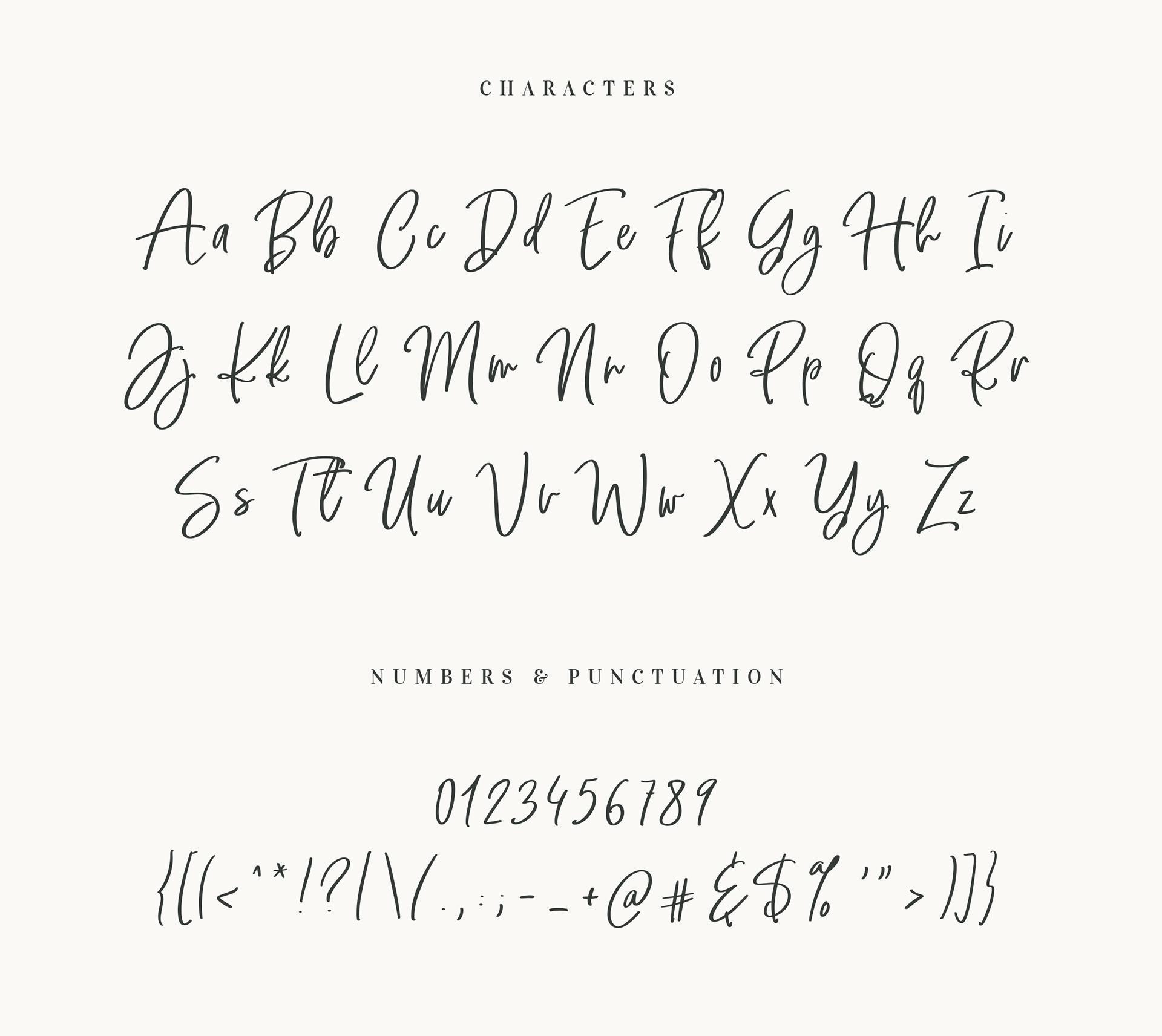 The Secret Free Font - script
