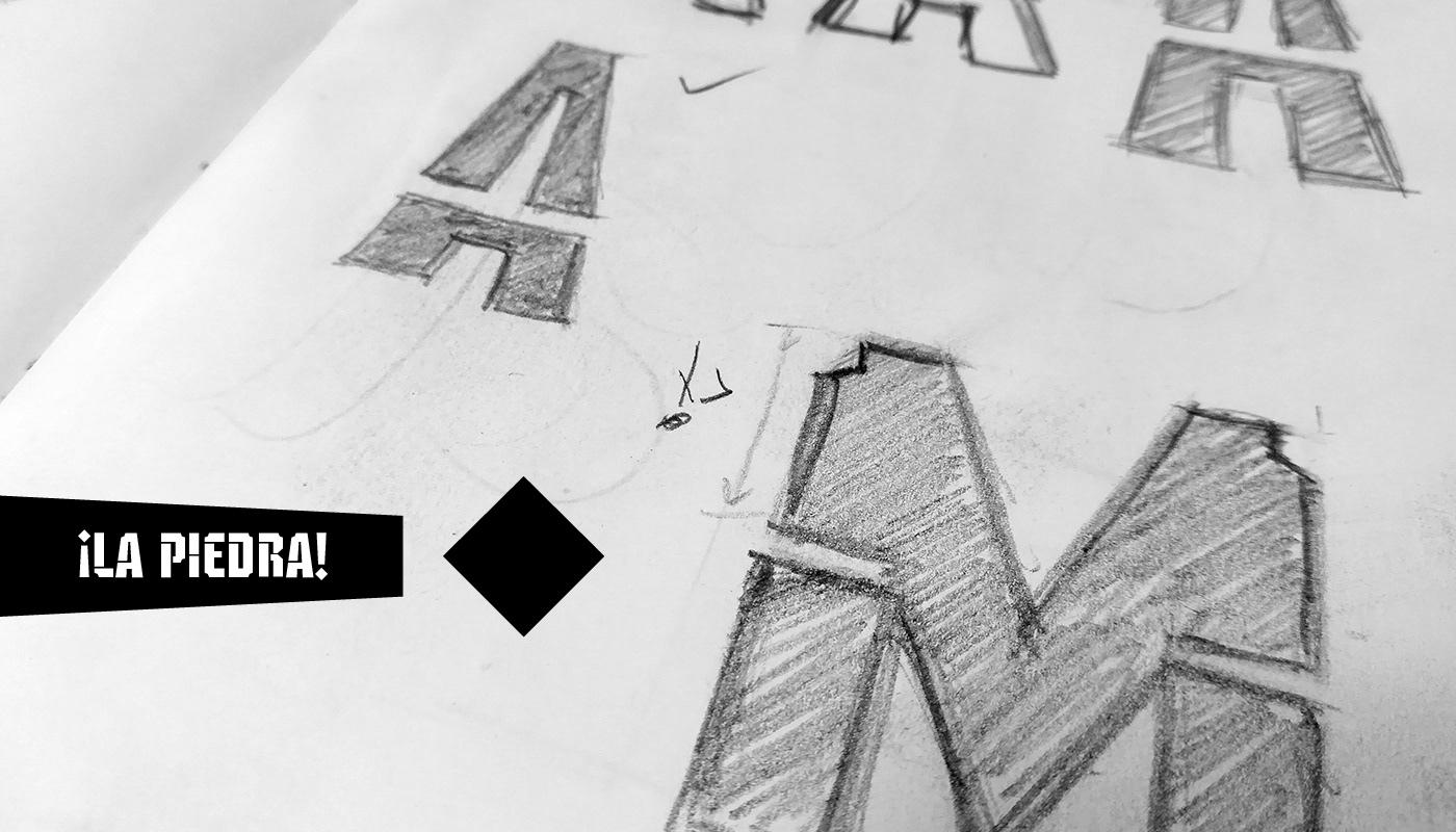 Vandálica Free Font - decorative