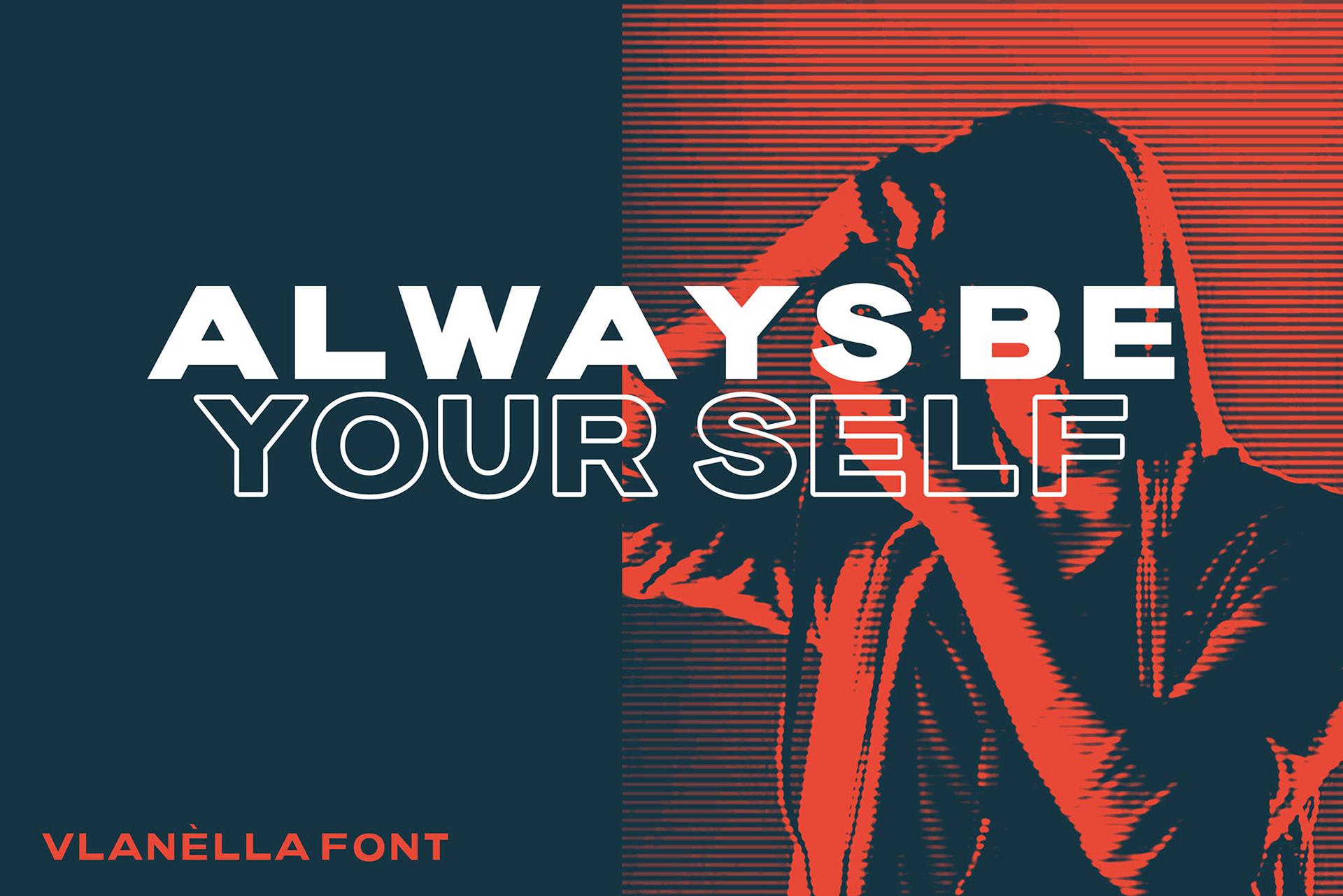 Vlanèlla Free Font Family - sans-serif