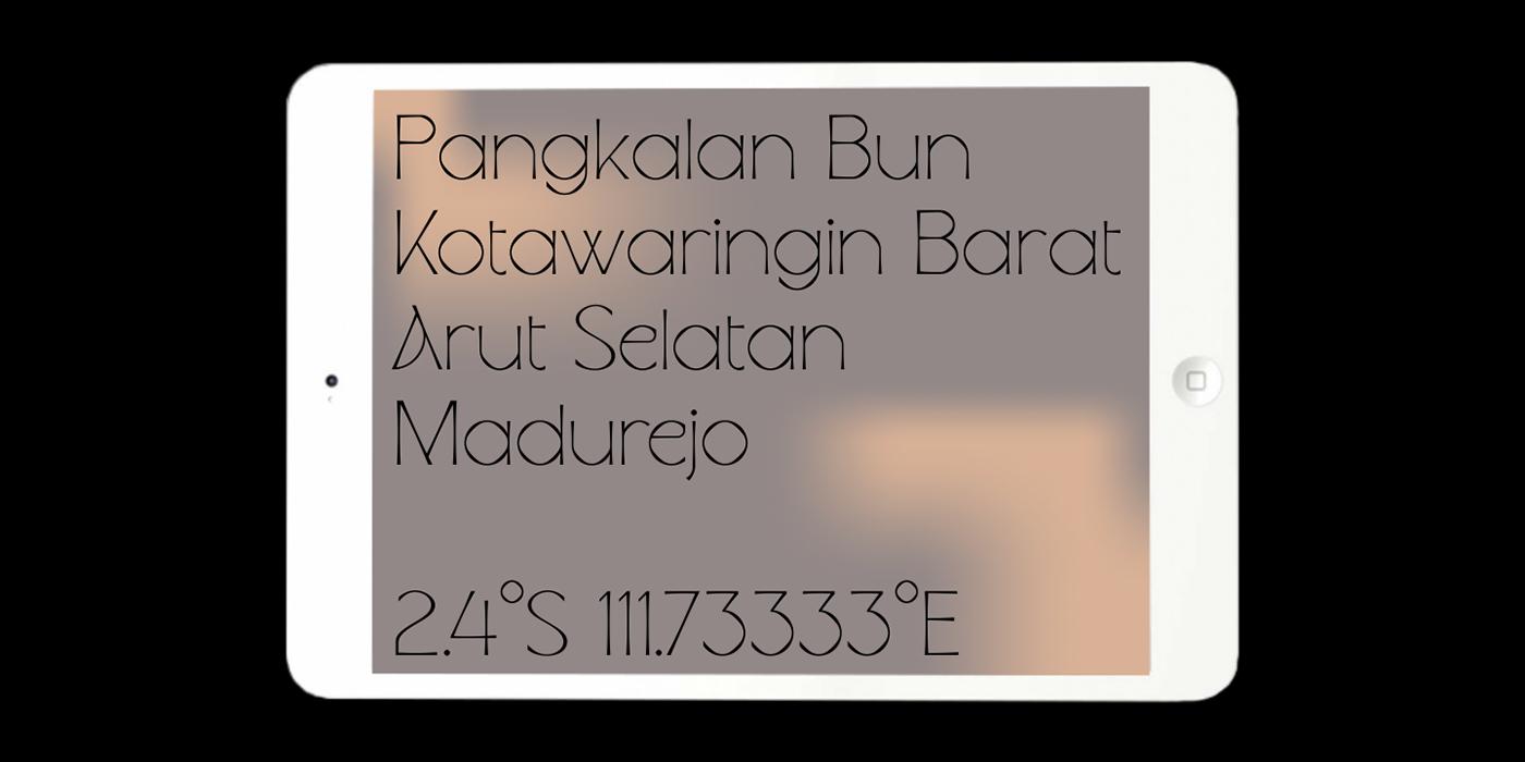 Waffold Free Font - sans-serif