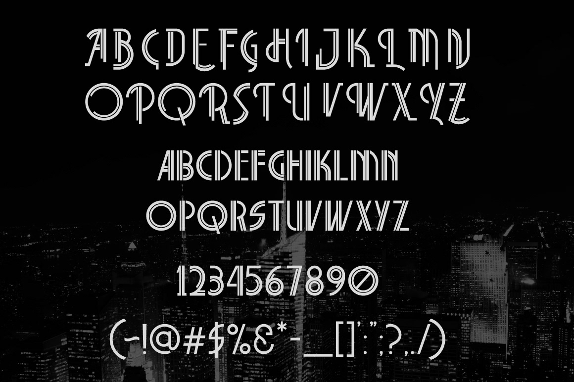 Wayawaya Free Font - decorative-display