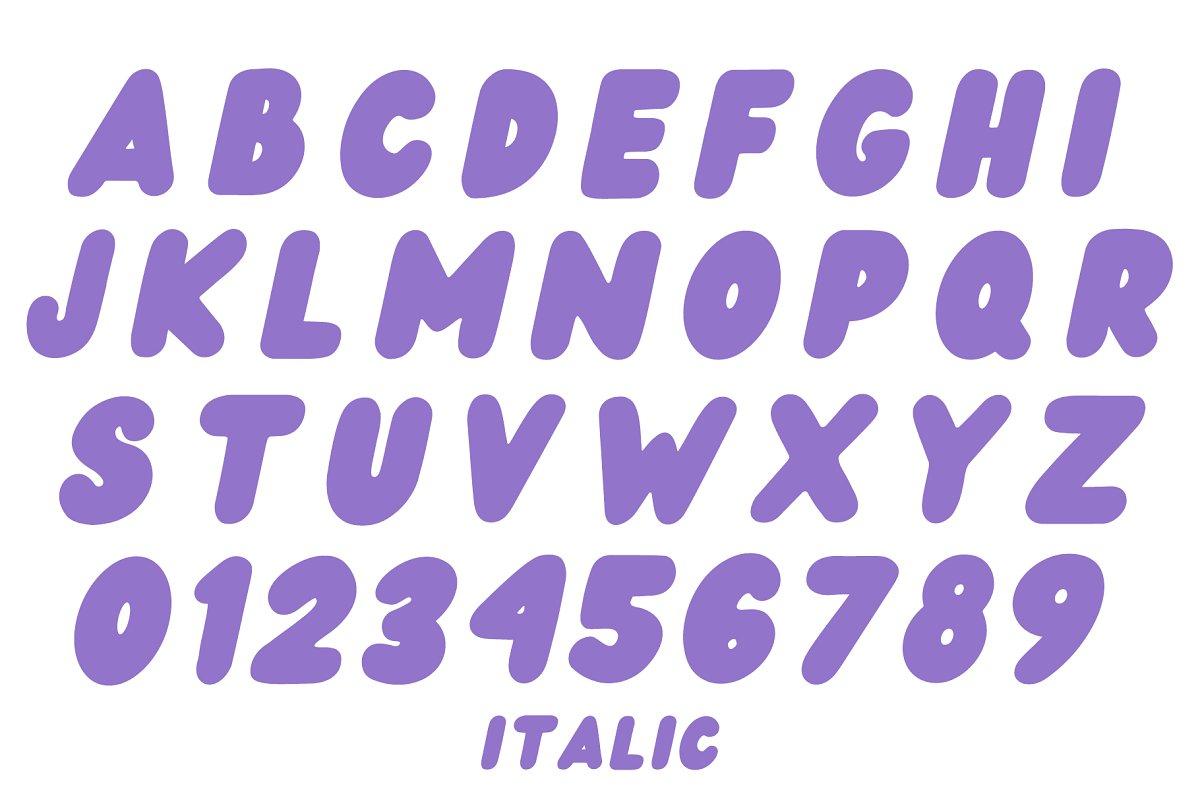 Wedges Free Font - decorative-display
