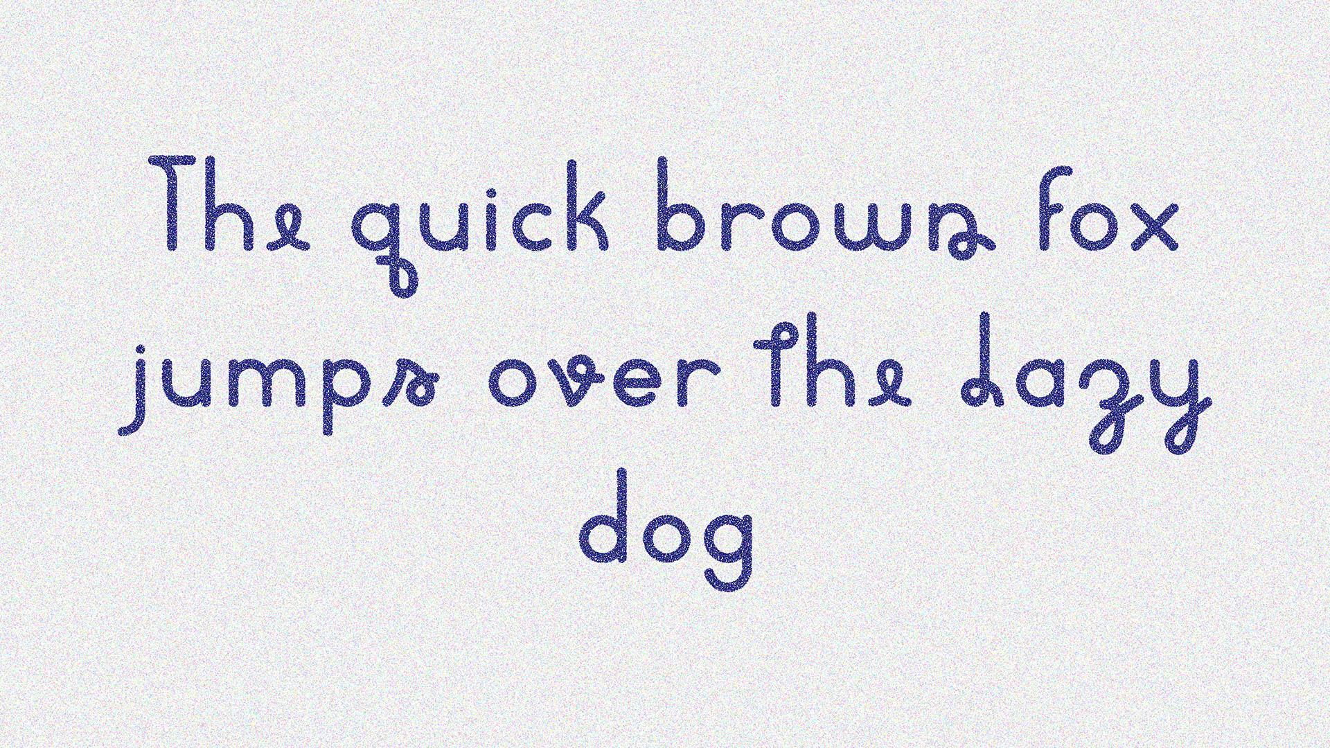 WOOM Free Font - sans-serif