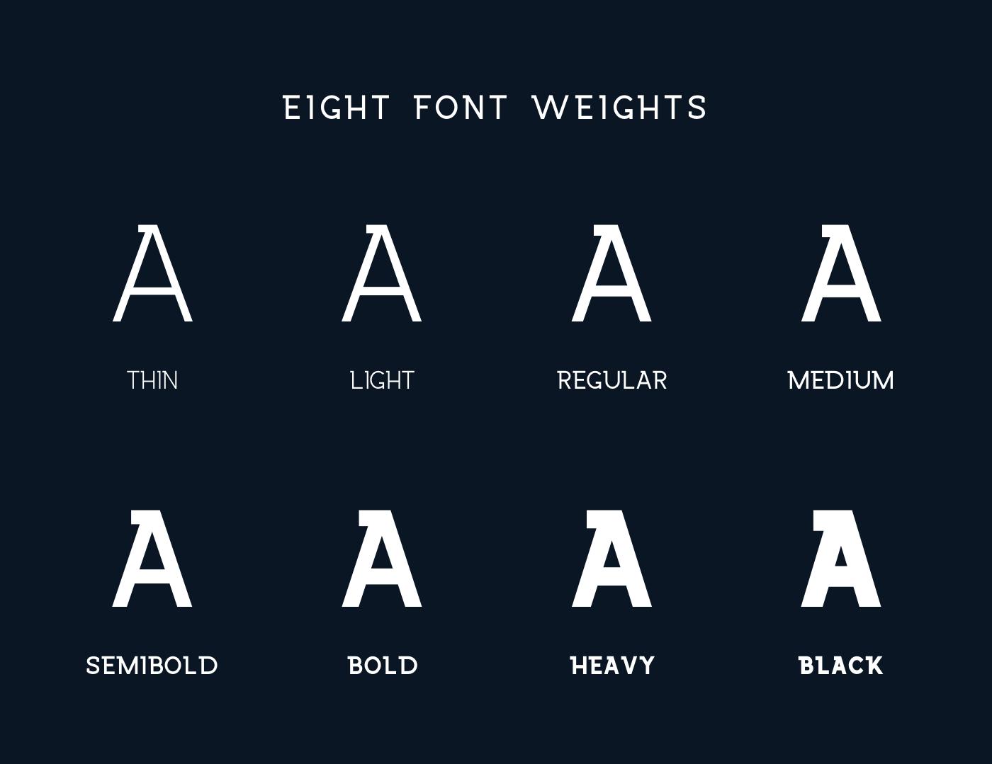 Wrangell Free Slab Serif Font - slab-serif
